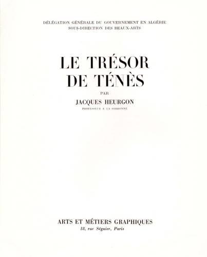 Highlight for Album: Le LIVRE sur le TRESOR de TENES