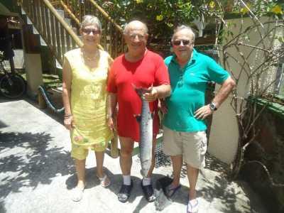 un baracuda de 5kgs Christiane, Daniel, Marc