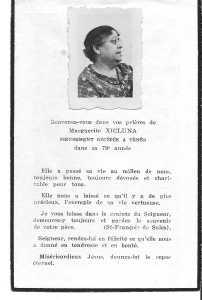 XICLUNA Marguerite