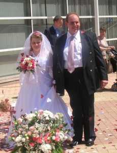 2005 Mariage d'Elisabeth MANSION
