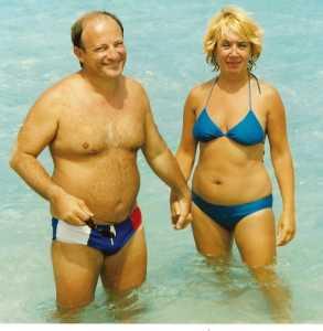 1994 - en Corse Daniel MANSION et Danielle CHOUAN