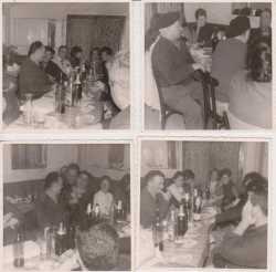 1965 - BORDEAUX Les 4 Pavillons Famille MARCOT et Fernand DELBANO