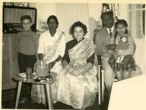 Famille MARIANI ---- Daniel WERY Mme MARIANI Rosette WERY M'Dou MARIANI le fils