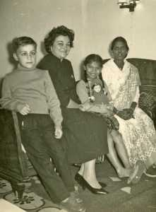 Famille MARIANI ---- Daniel WERY Rosette WERY la fille MARIANI Mme MARIANI