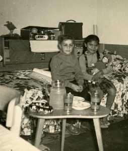 Daniel WERY et la fille MARIANI