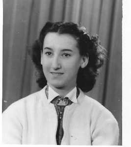 1955 - Maguy 14 ans