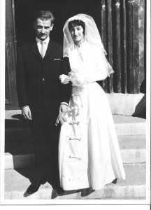 1963 - Mariage de Maguy LASSUS et Jean MARTIN