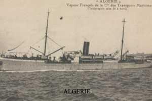 VAPEUR L'ALGERIE