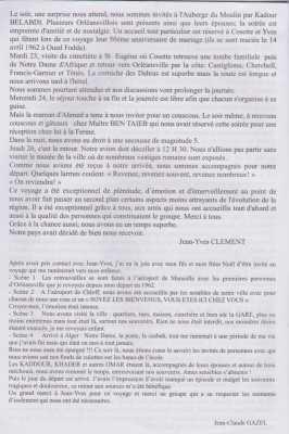 Retour au Pays Jean-Claude GAZEL