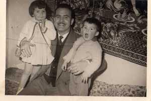 Bruno PELOSI avec ses enfants