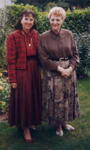 Simone et Olga Perez en septembre 2008