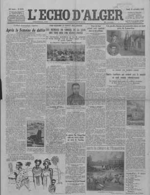 L'Echo d'Alger du 19/11?1931