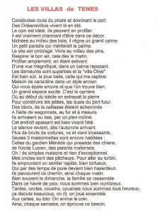 """""""Les VILLAS de TENES"""" ---- Lucien LUBRANO"""