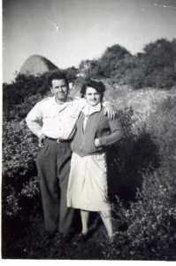 Henri PORCEL et son amie Gabrielle SULTANA