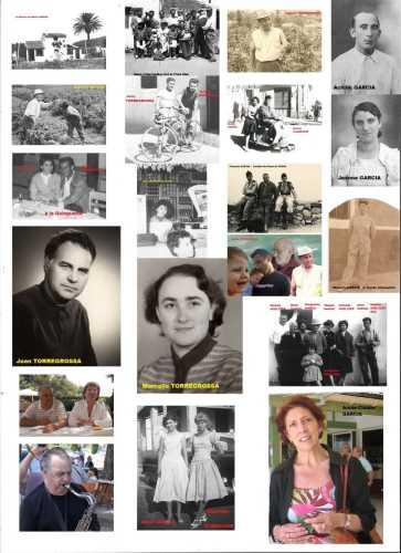 Familles  GARCIA et TORREGROSSA