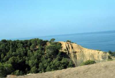 Oued ben Toumi avant Dramla (nouveau village) route de Pointe Rouge