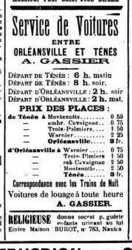 Alfred GASSIER ---- Service de voitures