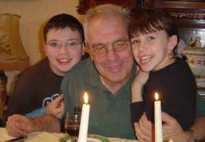 Sauveur RUSO fils de Lucienne et Jean et ses petits enfants ---- 76-OCTEVILLE ----   FAMILLE RUSO  -----