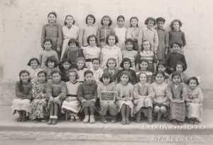 CM1 - 1952  Classe d' Yvonne RAU
