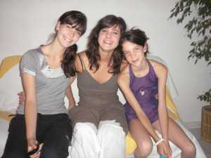 Les 3 filles de Christian RAZI
