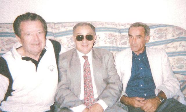 """Marcel BERGONZOLI Ali NEDJAR """"boule de suif"""" Ali FERHAOUI"""