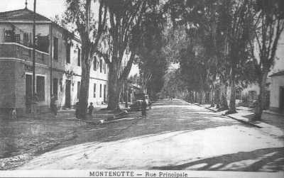 MONTENOTTE La Rue Principale