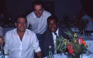 1984 - Anciens footeux Roland BONTRAN Claude SALA DAOUD