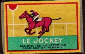 allumettes  LE JOCKEY