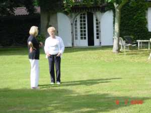 Marie Rose CARLE et Suzy SAGUES compagne de Serge SEROR