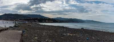 Panorama sur TENES et la cote  vers Mostaganem