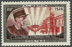 COLONNA D'ORNANO 1895 - 1941