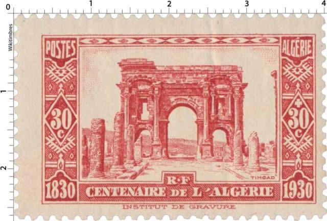ALGERIE - 1930