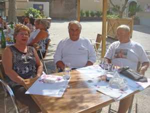 Septembre 2009 ---- POMEROLS (34) ---- Alice TORREGROSSA Jacky TORREGROSSA Daniel MANSION