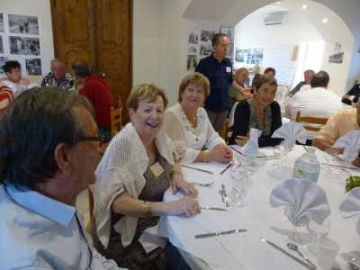 LA VIERE 2014 ---- Robert CARDONA Liliane LUBRANO Alice TORREGROSSA Chantal CHAMMA Jacques TORRES