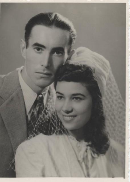 1945 Gilbert et Colette SALA