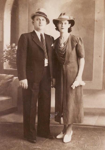 Virginie et Vincent CUCINIELLO Parents de Jacques