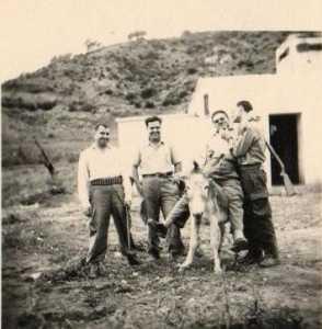 1959 Les UT au puits Jean Pierre BERGONZOLI Jean GARCIA Guy WERY Georges XIMENES