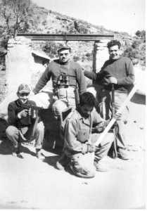 1960 - Les UT au puits  ---- PEREZ Crescent (fils) Guy WERY Jean GRACIA x