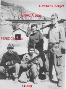 GRACIA Jean XIMENES Georget PEREZ Crescent fils CHAIBI