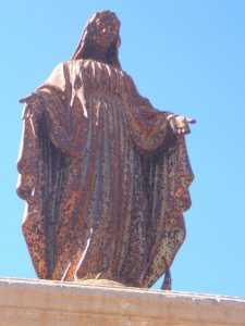 Statue de La Vierge en 2007