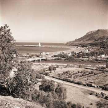 1950 - Vue de la descente