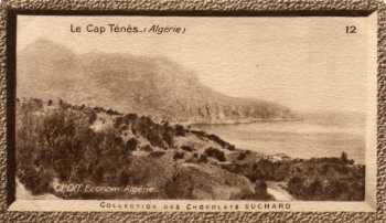 Vieux tableau du Cap TENES Collection des chocolats SUCHARD