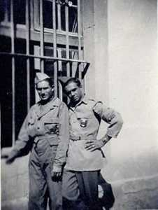 30 octobre 1945  a droite Guy WERY