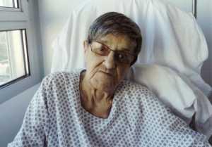 Francine XICLUNA quelques jours avant sa mort