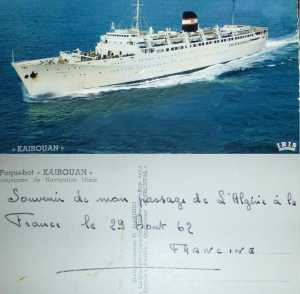 1962  Francine - l'Exode