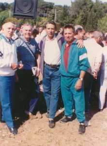 BEZIERS 1989 ---- Albert BERNARD Georges PEREZ Paul YVARS Henri YVARS