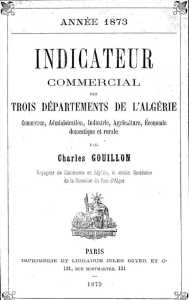 Indicateur Commercial 1873