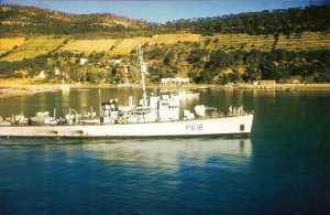 """le P618 """"Fantassin"""" Patrouilleur de la Marine Nationale"""