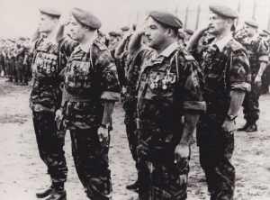 Mars 1958 - Cap Matifou  Colonel COUSTAUX remplace  le Colonel MAYER