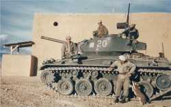 Char Chaffee M24. 